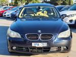 2006 BMW 5 Series 525i E60 Monaco Blue
