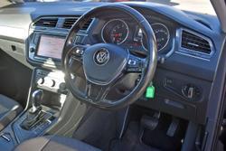 2017 Volkswagen Tiguan 110TSI Comfortline 5N MY17 Black