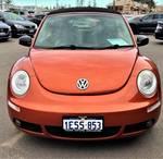 2010 Volkswagen Beetle BlackOrange 1Y MY10 Red Rock