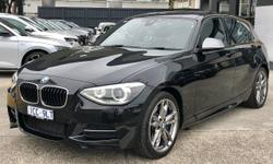 2014 BMW 1 Series M135i F20 MY14 Black