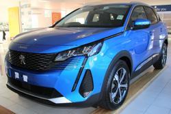 2021 Peugeot 3008 Allure P84 MY21 Blue