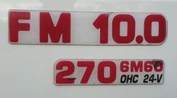 2003 FUSO FIGHTER WHITE
