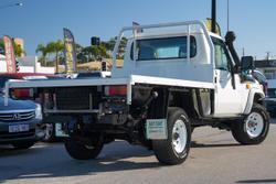 2014 Toyota Landcruiser Workmate VDJ79R 4X4 Dual Range White