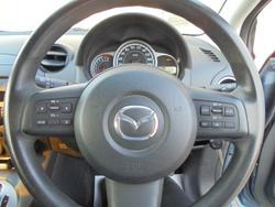 2014 Mazda 2 Neo Sport DE Series 2 MY14 Blue