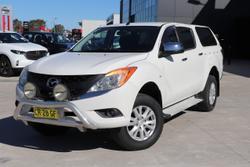 2014 Mazda BT-50 XTR Hi-Rider UP White