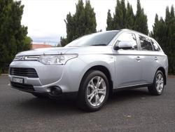 2013 Mitsubishi Outlander ES ZJ MY13 4X4 On Demand Silver