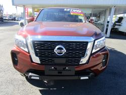 2021 Nissan Navara ST-X D23 4X4 Dual Range Orange