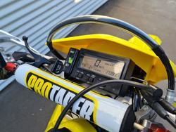 2017 Suzuki DR-Z400E DR-Z Champion Yellow No 2
