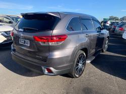 2019 Toyota Kluger Grande GSU50R Grey