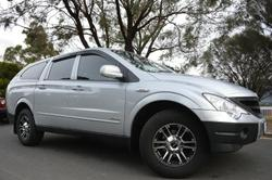 2011 SsangYong Actyon Sports Sports 100 Series MY11 Fine Silver