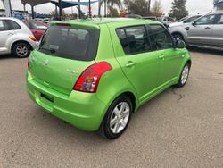 2010 Suzuki Swift RS415 Electric Green