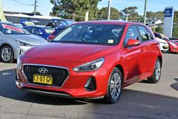 2020 Hyundai i30 Active PD2 MY20 Fiery Red