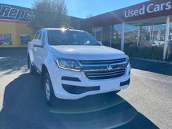 2019 Holden Colorado LS RG MY19 White