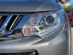 2016 Mitsubishi Triton GLS MQ MY16 4X4 Dual Range Grey