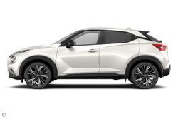 2021 Nissan JUKE Ti Energy Orange F16 White
