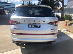 2021 SKODA Kodiaq RS NS MY21 4X4 Silver