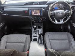 2019 Toyota Hilux SR GUN126R 4X4 Dual Range White