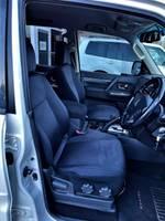 2016 Mitsubishi Pajero GLX NX MY17 4X4 Dual Range White