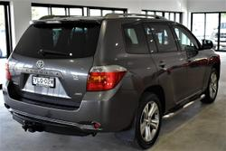 2009 Toyota Kluger KX-S GSU45R AWD Grey