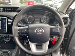 2016 Toyota Hilux Workmate TGN121R Grey