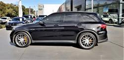 2018 Mercedes-Benz GLC-Class GLC63 AMG S X253 Four Wheel Drive Obsidian Black