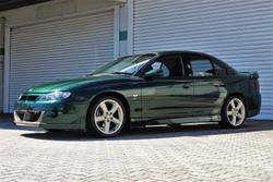 2001 Holden Special Vehicles Clubsport VX II Green