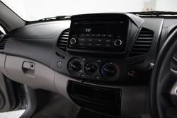 2015 Mitsubishi Triton GLX MN MY15 4X4 Dual Range Cool Silver