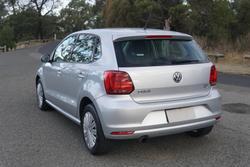 2017 Volkswagen Polo 66TSI Urban 6R MY17.5 Reflex Silver