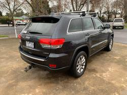 2015 Jeep Grand Cherokee Laredo WK MY15 4X4 Dual Range True Blue
