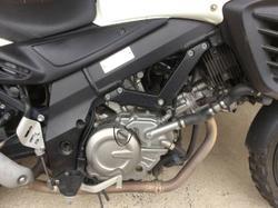 2012 SUZUKI V-STROM 650 ABS (DL650A) ROAD WHITE
