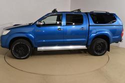 2013 Toyota Hilux SR5 KUN26R MY12 4X4 Tidal Blue