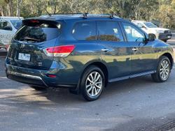 2013 Nissan Pathfinder ST R52 MY14 4X4 On Demand Galaxy Blue