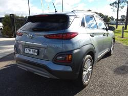 2018 Hyundai Kona Elite OS MY18 AWD Silver