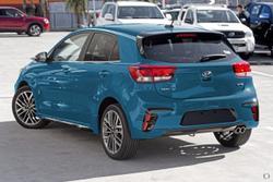 2021 Kia Rio GT-Line YB MY21 Sporty Blue