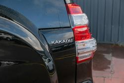 2015 Toyota Landcruiser Prado Kakadu GDJ150R 4X4 Dual Range Eclipse Black