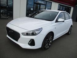 2017 Hyundai i30 SR PD MY18 Polar White