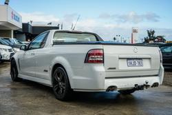 2014 Holden Ute SS VF MY14 Heron White