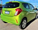 2016 Holden Spark LS MP MY16 Fresh Lime Green