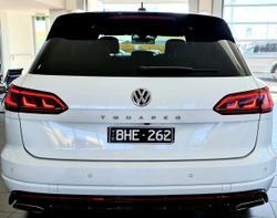 2019 Volkswagen Touareg 190TDI Premium CR MY20 Four Wheel Drive White