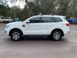 2018 Ford Everest Trend UA MY18 4X4 Dual Range Arctic White