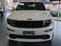 2016 Jeep Grand Cherokee SRT Night Edition WK MY16 4X4 On Demand White
