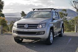 2013 Volkswagen Amarok TDI420 Highline 2H MY13 4X4 Constant Sand Beige