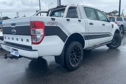 2013 Ford Ranger XL PX 4X4 Dual Range White