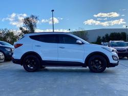 2015 Hyundai Santa Fe Highlander DM2 MY15 4X4 On Demand White