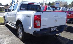 2013 Holden Colorado LT RG MY13 4X4 Dual Range Summit White
