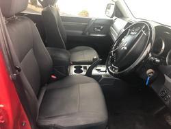 2010 Mitsubishi Pajero RX NT MY10 4X4 Red