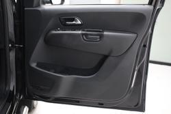 2016 Volkswagen Amarok TDI550 Ultimate 2H MY17 4X4 Constant Deep Black