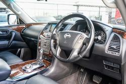 2018 Nissan Patrol Ti Y62 Series 4 4X4 Dual Range Black Obsidian