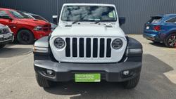 2021 Jeep Gladiator Sport S JT MY21 4X4 On Demand White
