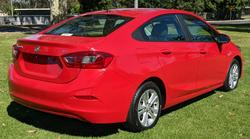 2017 Holden Astra LS BL MY17 Absolute Red